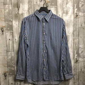 Old Navy Stripped Casual Button Down Shirt (M)